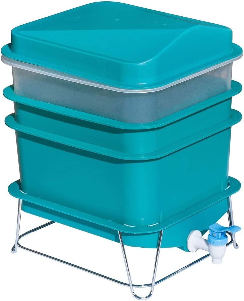 4-Tray Worm Compost Kit