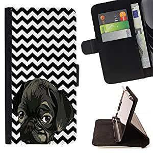 Pattern Queen- Ferris Wheel - FOR Apple Iphone 6 PLUS 5.5 - Leather Case Cover Credit Card Slots Flio Flip Wallet Card