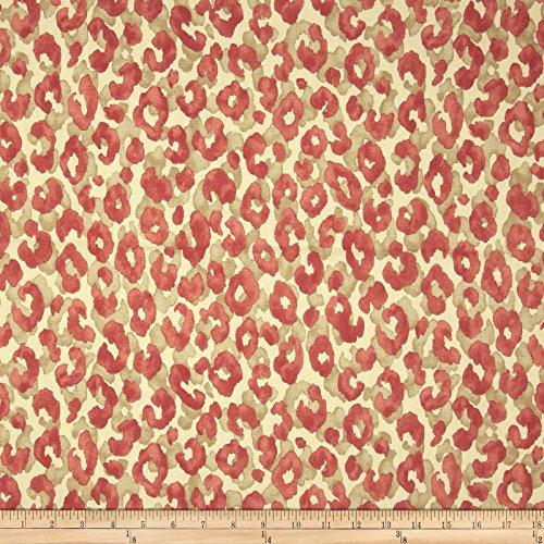 upholstery fabric orange - 5