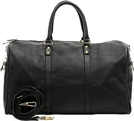 Velez Mens Genuine Colombian Leather Designer Handbag Travel Bag Doctor Bag Bowling Bag | Bolsos y