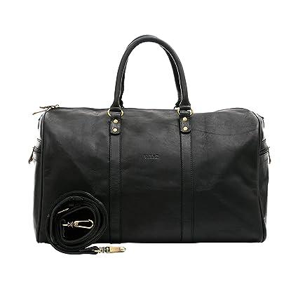 Amazon.com | Velez Mens Genuine Colombian Leather Designer Handbag Travel Bag Doctor Bag Bowling Bag | Bolsos y Carteras de Hombre de Cuero Colombiano Black ...