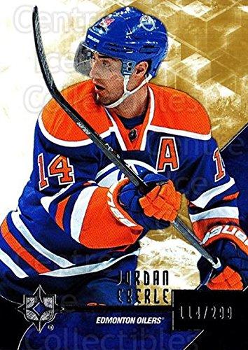((CI) Jordan Eberle Hockey Card 2014-15 UD Ultimate Collection 1 Jordan Eberle)