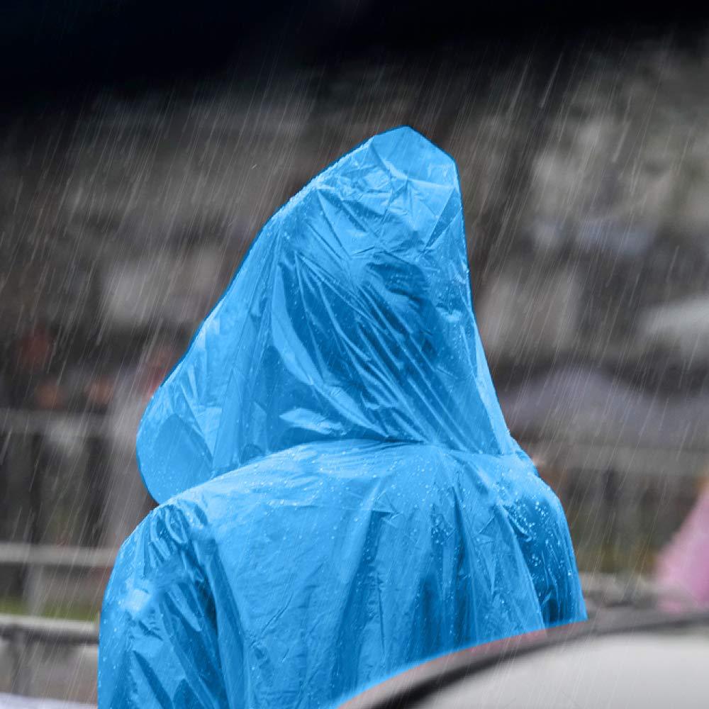 Sahara Sailor 2 St/ück Regenponchos Wiederverwendbar Poncho Eva Regenm/äntel Wasserdicht Regenjacken f/ür Konzert Stadion,Angeln Draussen Camping