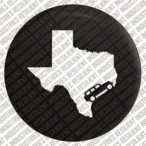 Jeep-Wrangler-TEXAS-Spare-Tire-Cover-Adventure-Badge-Jk-Tj-Lj-Yj-Cj-Unlimited-Rubicon-4X4-Vintage-Moab-Sahara