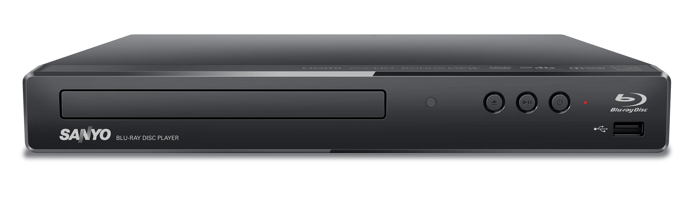 Sanyo FWBP706F Blu-ray Disc & DVD Player with Built-in WiFi by Sanyo