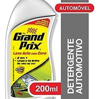 Detergente Automotivo Grand Prix Lava Auto com Cera 200ml