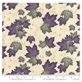 quilt fabric clearance - Clearance Sale~Summer on the Pond~Northwoods Summer Leaves Natural by Holly Taylor - Moda Cotton Fabric