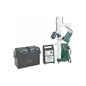 Zoeller 507-0005 Basement Sentry Battery Backup pump