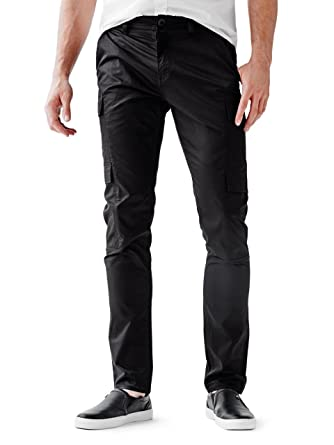 undefeated x fantastic savings outlet boutique GUESS Men's Slim Taper Essential Cargo Pants at Amazon Men's ...