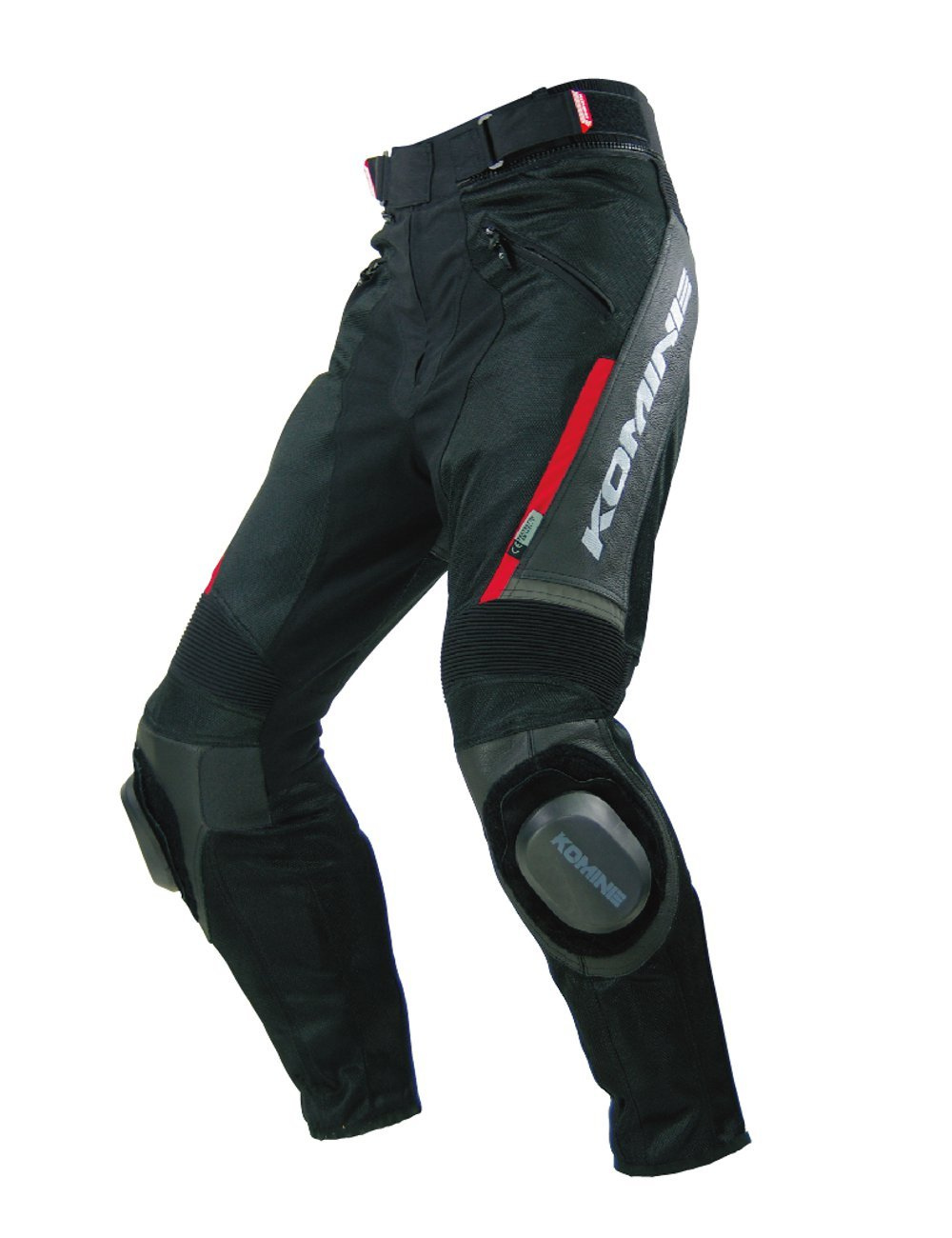Komine PK-717 Sports Riding Leather M-PNT black L 07-717