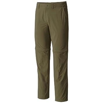 Mountain Hardwear Men's Castil Convertible Pant Peatmoss - 33
