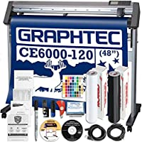 Graphtec PLUS CE6000-120 48 Inch Professional Vinyl Cutter with BONUS Oracal 651, $2100 in Software, and 2 Year Warranty