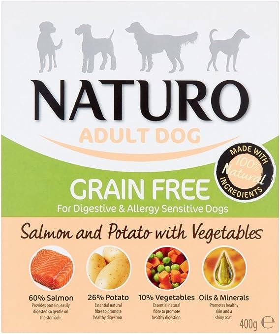 Naturo - Grain Free Salmón/Patata, 0.4KG