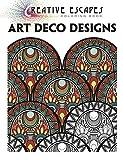 Creative Escapes Coloring Book: Art Deco Designs