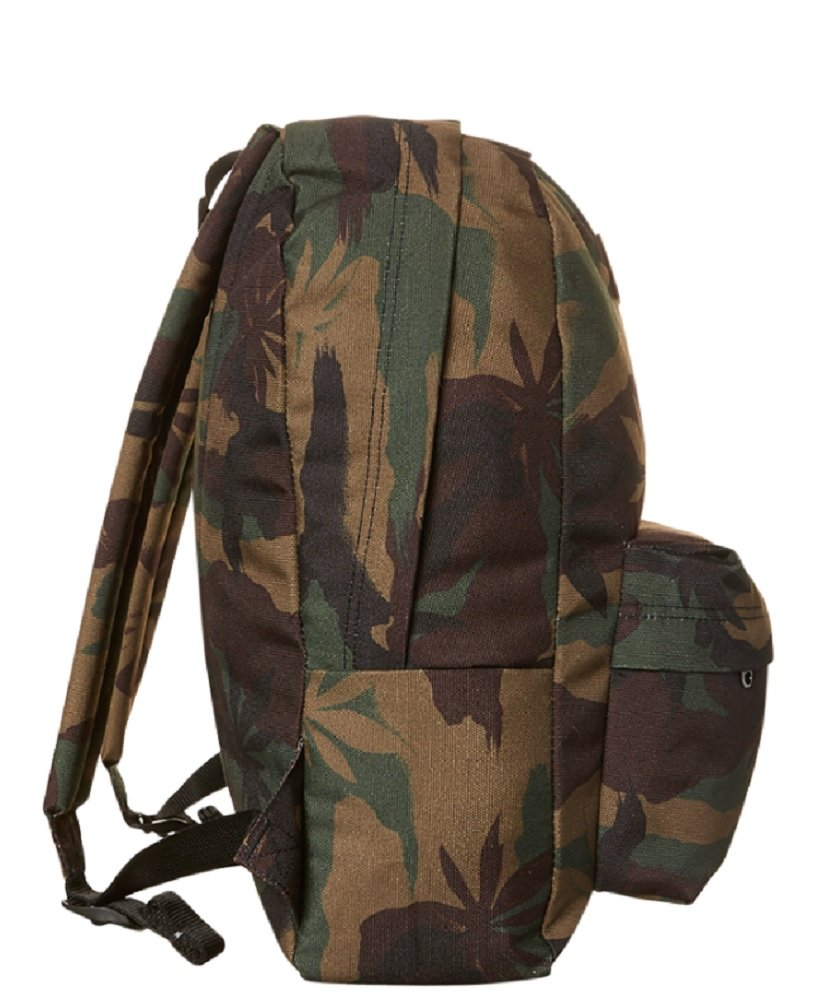 866a719324 Vans Old Skool Ii 22L Backpack Leaf Peace Camo Surf Bag Brown Green Men  Women Unisex  Amazon.in  Bags