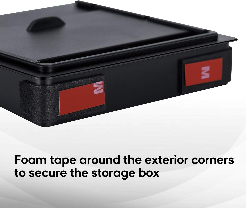 Farasla Center Console Organizer for Tesla Model 3 Model Y Armrest Hidden Storage Box for Valuable Small Items