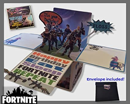 Fortnite Birthday Card Box
