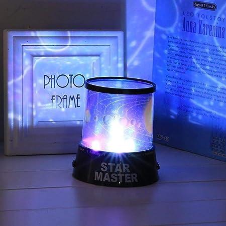 Noche proyector de luz de Navidad La luz LED de la estrella del ...