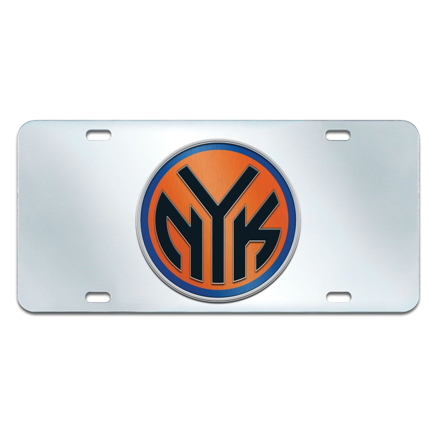 Fanmats NBA New York Knicks License Plate-Inlaid 6x12