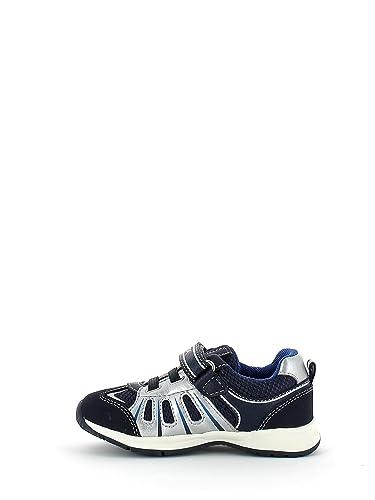 Chaussures Enfant Geox B52s9a 05411 Bleu Marine / Argent 20 7ZiVF