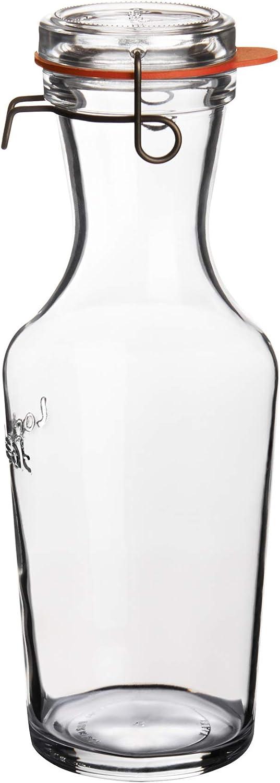 Luigi Bormioli Lock Eat Juice Jar, 34 Ounce