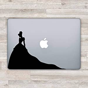 MacBook Decal Disney MacBook Sticker Laptop Sticker Cinderella Laptop Decal Disney Vinyl Sticker