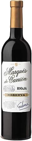 Marqués de Carrión Surtido de 3 Vinos con D.O Rioja: Reserva, Crianza y Vendimia Seleccionada - Pack de 3 Botellas x 750 ml