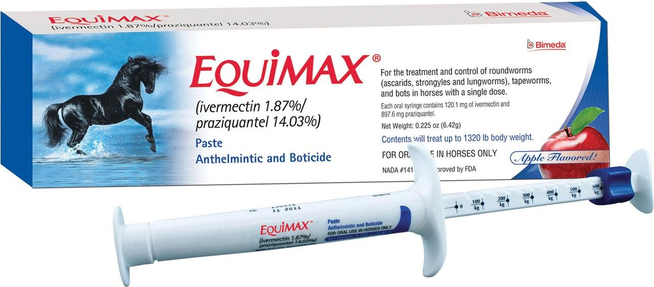 Equimax, 6.42 gm Paste Lambriar Vet 0017