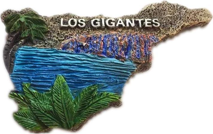 Tenerife Mapa de España Europa Ciudad Mundial Resina 3D Fuerte Imán para nevera Regalo turístico Imán chino Hecho a mano Artesanía Creativa Casa y Cocina Decoración Magnética (3): Amazon.es: Hogar