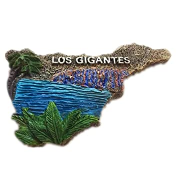 Amazon.com: Tenerife Map of Spain Europe World City Resin 3D Strong ...