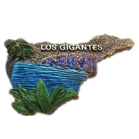 Tenerife Mapa de España Europa Ciudad del Mundo resina 3d fuerte ...