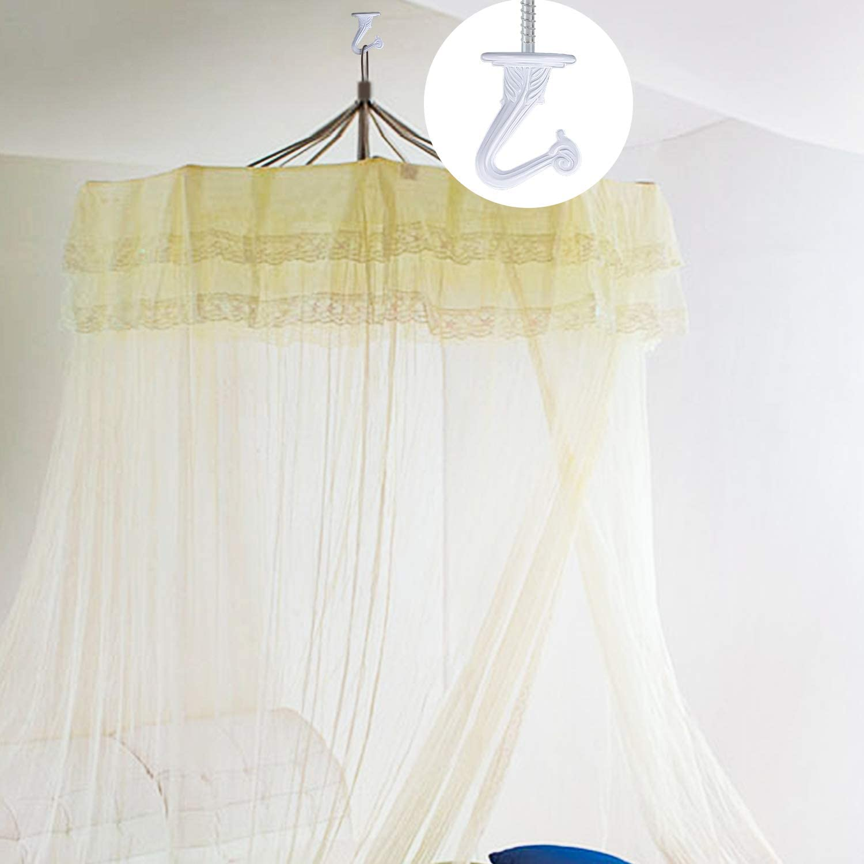 Tasse Objets de D/écoration Int/érieurs et Ext/érieurs AIEX 10 Ensembles Crochets de Plafond Crochets /à Visser pour Suspendre des Plantes