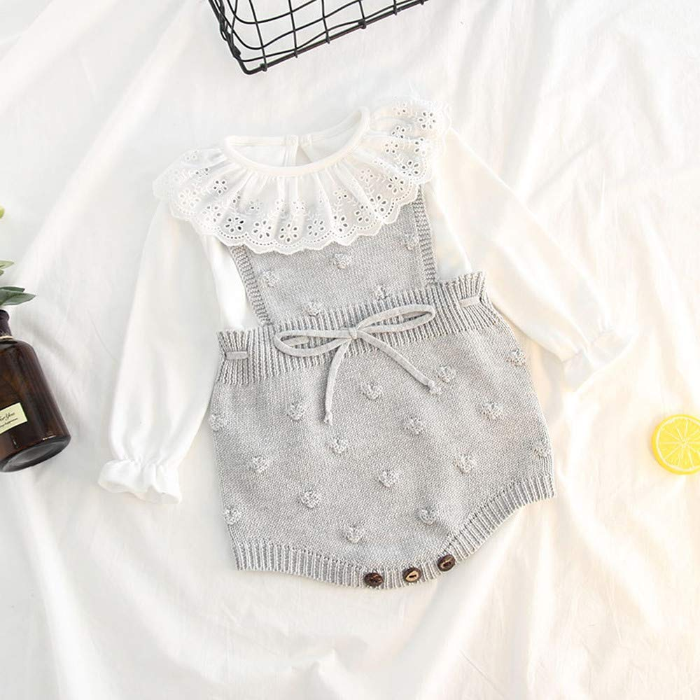 Amazon.com: Hot Trendy, Toddler Infant Newborn Baby Girl, Knit ...
