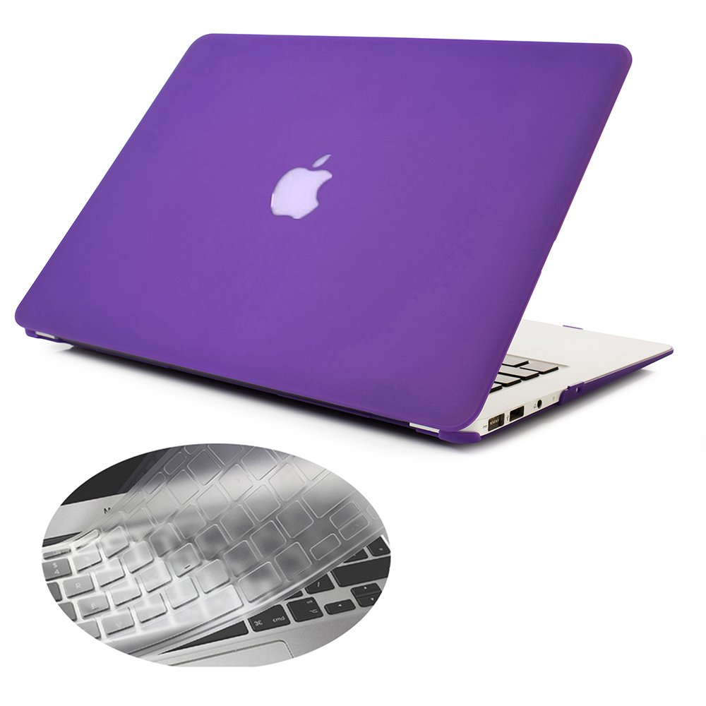 Se7enline 2016-2018 Macbook Pro 15 case Smooth Soft-Touch Matte Frosted Hard Shell Cover for MacBook Pro 15 A1707//A1990 with Retina Display Touch Bar /& Touch ID with Keyboard Cover Ultra Violet