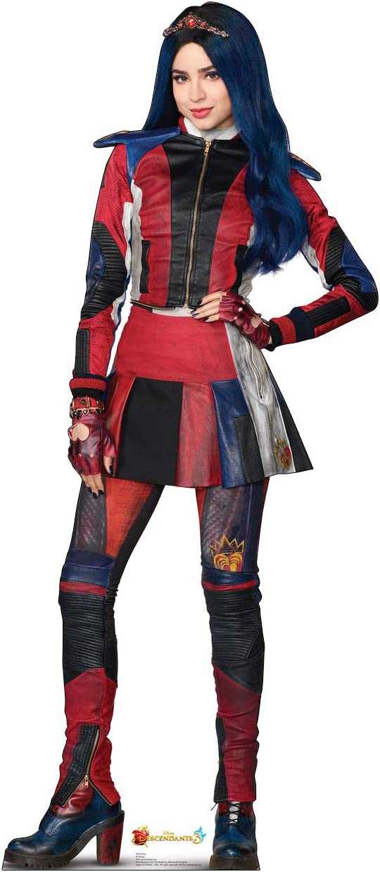 Advanced Graphics Evie Life Size Cardboard Cutout Standup - Disney Channel's Descendants 3 (2019 Film)