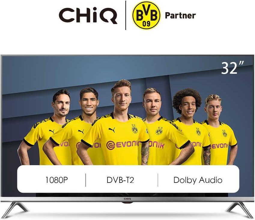 CHiQ L32D5T 32 pulgadas (80cm) Full HD LED TV, Triple Sintonizador ...
