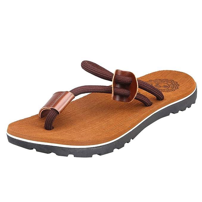 Bestow Zapatos de Playa para Hombre Chancletas Casuales Zapatillas de Exterior Zapatillas de Moda al Aire Libre: Amazon.es: Ropa y accesorios