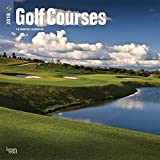 Golf Courses 2018 12 x 12 Inch Monthly Square Wall Calendar, Golfing Sport (Multilingual Edition)