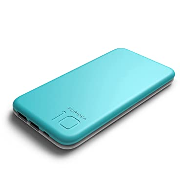 Puridea S2 10000 mAh Cargador Portátil, Dual USB Power Bank ...
