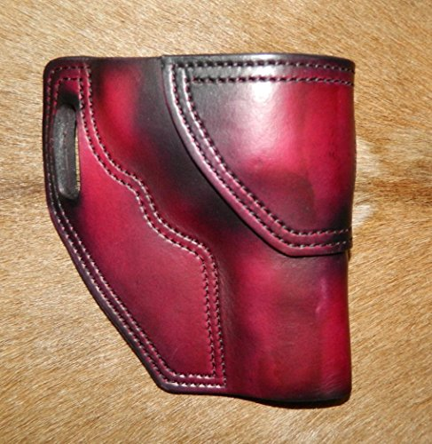 Gary C's Avenger RH Leather Holster fits the S&W N Frame 4