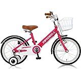 RayChell(レイチェル) 子ども用自転車 16インチ KCL-16R 前後フェンダー フロントバスケット付 フロントキャリパー/リアバンドブレーキ ピンク 31081