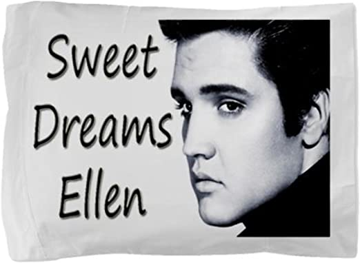 Personalised Elvis Presley Number One 1 Fan Pillowcase Pillow Case Gift