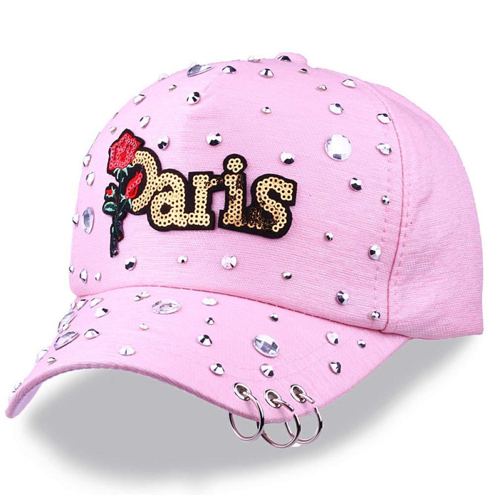 zhuzhuwen Sombrero Sra. Nueva Letra Gorra de béisbol Rosa Sailor ...