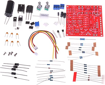 Details about  /3in10-30V 2mA 3A Adjustable DC Regulated Power Supply DIY Kit Radiator Alumi
