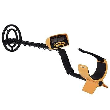 COSTWAY Detector de Metales Dispositivo Sonda de Profundidad Detector Profundidad hasta 3m LCD Pantalla: Amazon.es: Jardín
