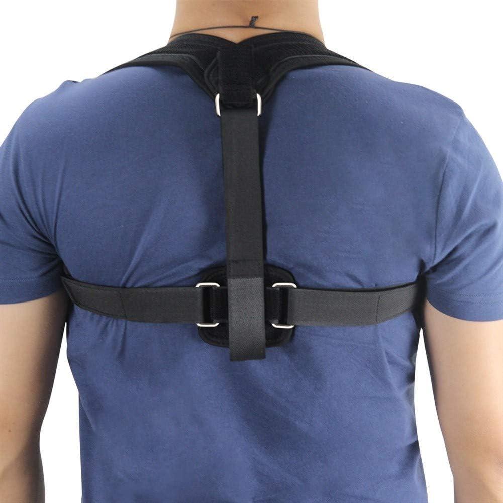 YLLN Corrector de Postura Cinturón de Vendaje de Hombro Corsé ortopédico de Espalda Escoliosis Cinturón de Soporte de Espalda para Hombres Mujeres