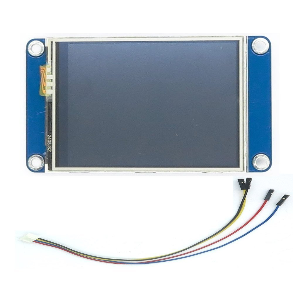 WIshioT NX3224T028 Nextion 2.8'' HMI Smart LCD Display ModuleTFT Touch Panel for ESP8266 Arduino Raspberry Pi