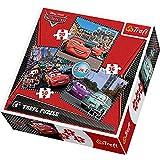 Trefl 3-in-1 Puzzle Travel Around Europe Disney Cars