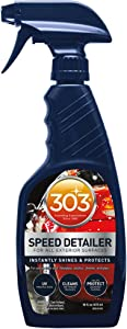 303 Quick Car Detailer with UV Protectant - High Gloss Car Cleaner and Detailing Spray, 16 fl. oz.