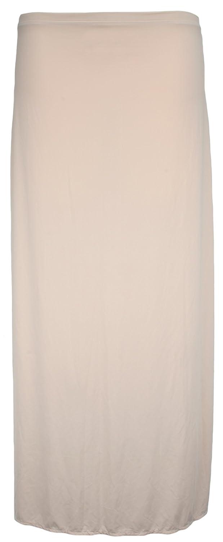 b325dbe0d02c7 Ex Store Anti Static Maxi Waist Slip Underskirt Nude 20: Amazon.co.uk:  Clothing